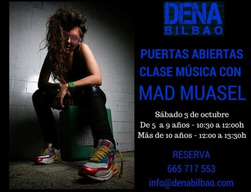 Puertas abiertas clase de música con Mad Muasel en Bilbao