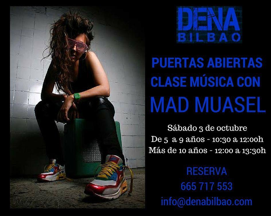 puertas abiertas clase musica mad muasel dena bilbao