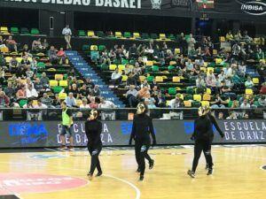 cuerpo de baile eventos bilbao DENA BILBAO basket