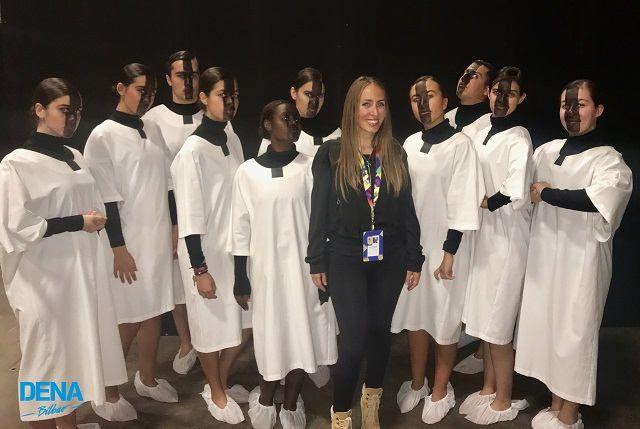 experiencia mtv ema bilbao 2018 DENA BILBAO cuerpo de baile