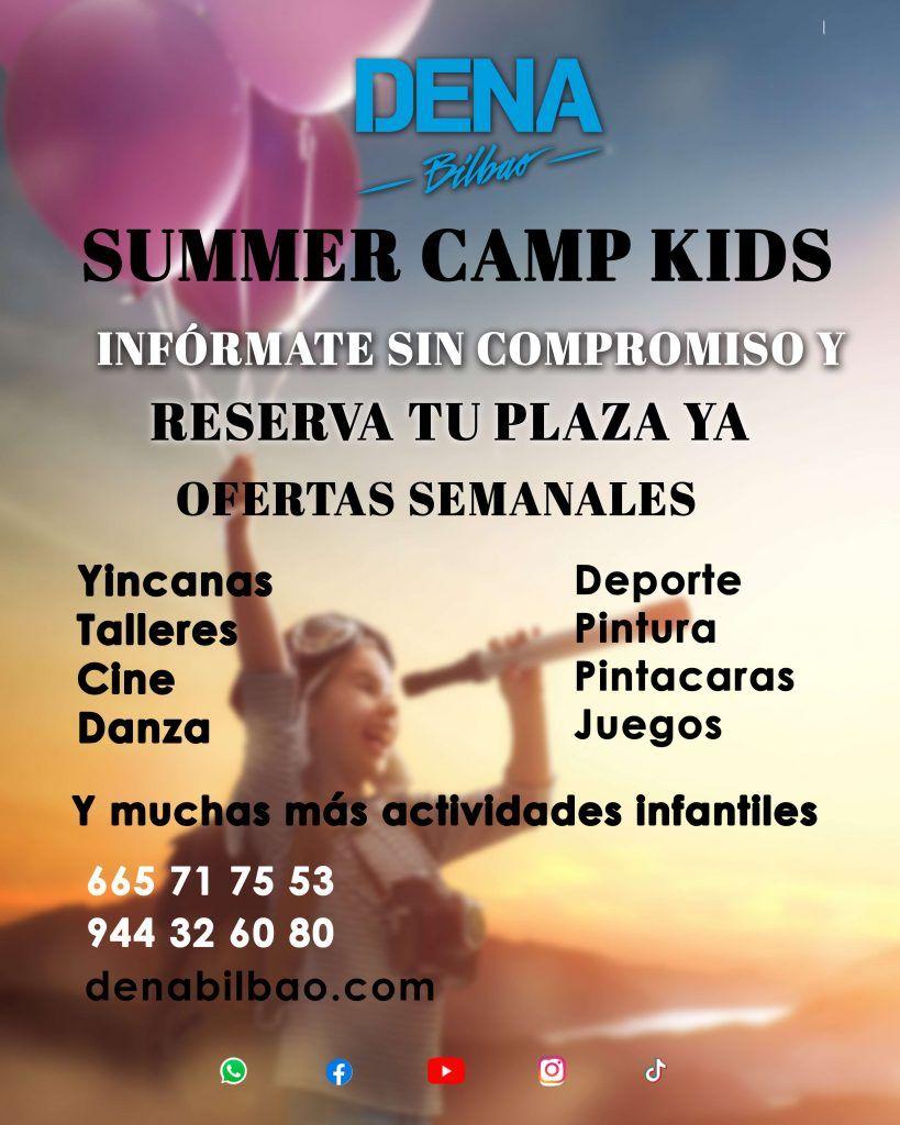 campamento de verano para niños en Bilbao